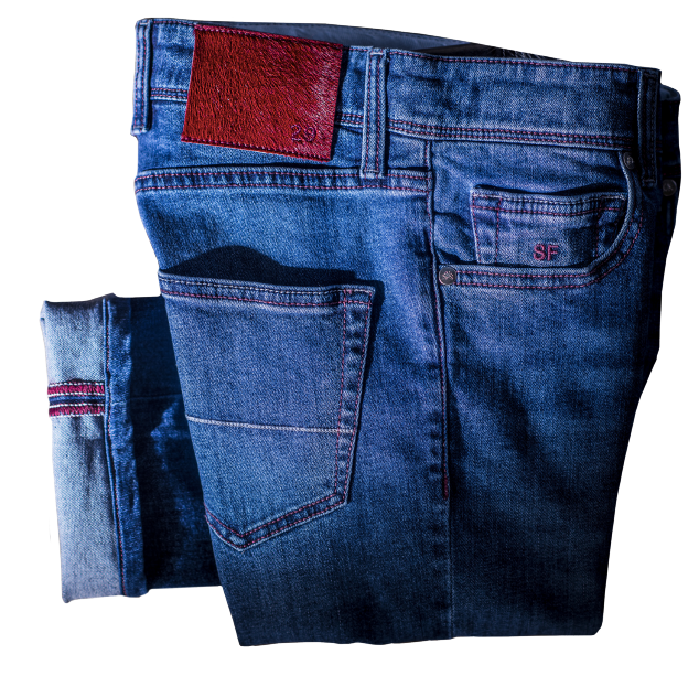 Made-to-measure jeans